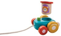 Plan Toys  houten trekfiguur Happy Engine-2