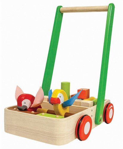 Plan Toys  houten loopwagen Bird Walker