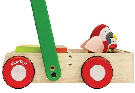 Plan Toys  houten loopwagen Bird Walker-2