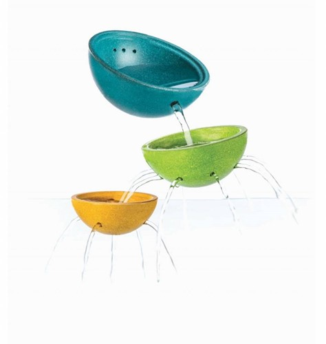Plan Toys  houten badspeelgoed Fountain Bowl Set