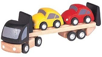 Plan Toys Plan City houten speelstad voertuig Auto transport