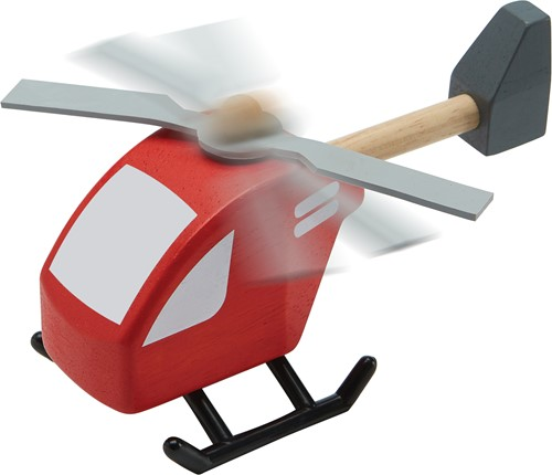 Plan Toys houten helicopter