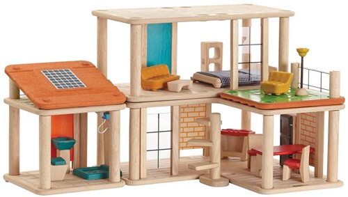 Plan Toys  houten poppenhuis Creative Play house-3