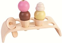 Plan Toys Houten Ice Cream Set