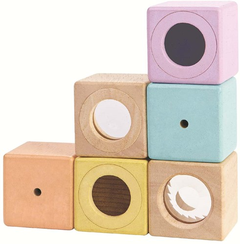 Plan Toys Houten Sensory Blocks