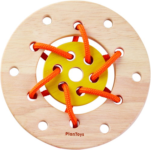 Plan Toys Lacing ring 5373