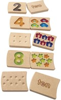 Plan Toys Number 1-10 (reliëf) 5641