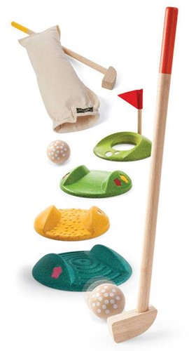 Plan Toys  houten buitenspel Mini Golf-Full Set