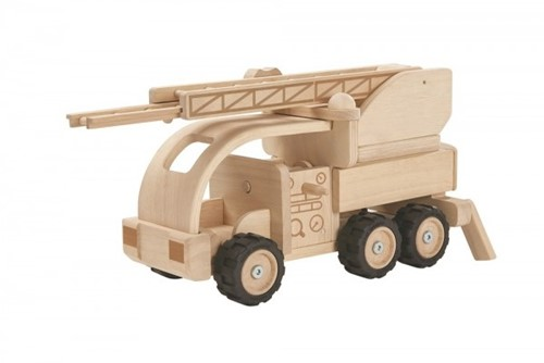 Plan Toys Fire Truck (Special edition)