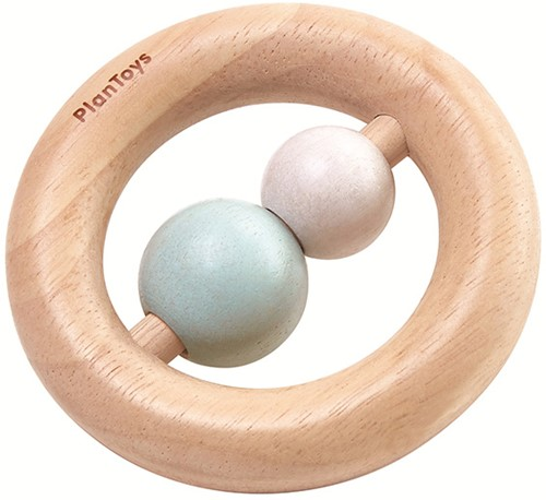 Plan Toys Ring Rattle Pastel