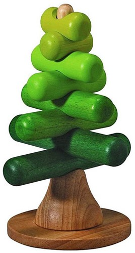 Plan Toys houten stapelfiguur Stacking Tree